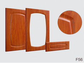 F56-os fóliás ajtófront